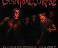 "CANNIBAL CORPSE ""Evisceration Plague"" – mėsainio principas"