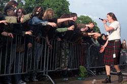 """""""Kauno dienų 2006"""" koncertas – linksmybės prie baržos Nemune"""