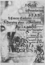 Kultinis metalo koncertas Utenoje – pleškesys iš provincijos