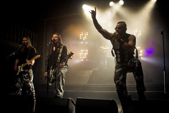 Fotoreportažas iš SABATON koncerto Vilniuje