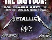 """""""Sonisphere Festival"""" Varšuvoje: didžiojo ketverto įsiveržimas be stabdžių"""