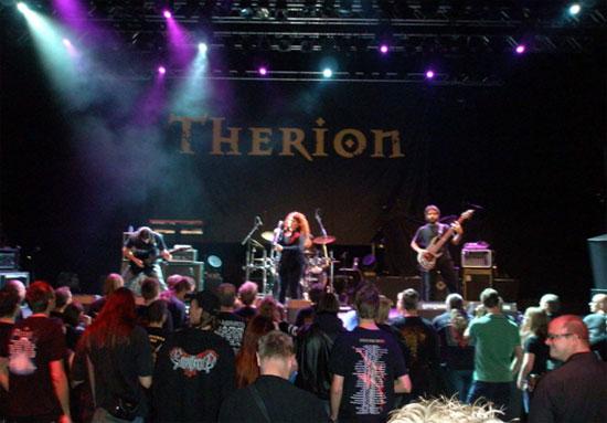 THERION kartu su ANTALGIA ir ELYOSE Eindhovene Olandijoje