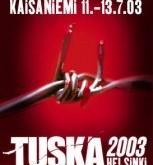 TUSKA 2003 festivalyje Helsinkyje dalyvaus visa eilė garsenybių