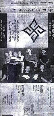 "HA LELA, POCCOLUS ir SKYFORGER ""Under the Sign of Thunder... The Return of Baltic Pagans"" – baltiškojo metalo trijulės koncertinis įrašas"