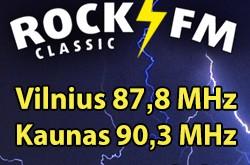 """Radijo stotis """"Classic Rock FM"""": Kaune – jau transliuojame, Panevėžyje – greitai pradėsime!"""
