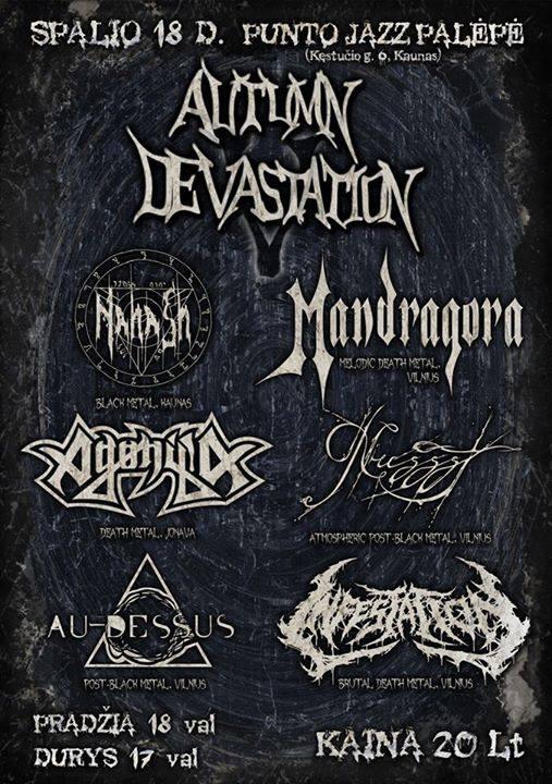autumndevastationV-plakatas