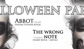 """Halloween Party"" su ABBOT ir THE WRONG NOTE"