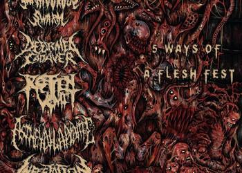 INFESTATION daina – penkių brutalaus metalo grupių splite