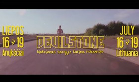 "Į festivalį ""Devilstone"" kviečiantis vaizdo klipas"