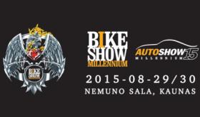 "Baikerių fiesta ""Bike Show Millennium"""