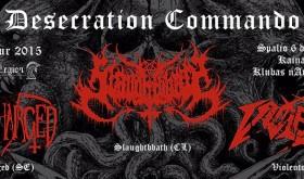 """""""Desecration Commando tour"""""""