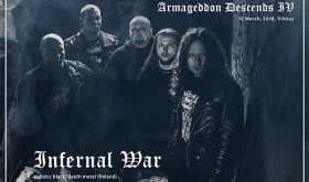 "Jokio pasigailėjimo: ""Armageddon Descends IV"" pasirodys INFERNAL WAR"