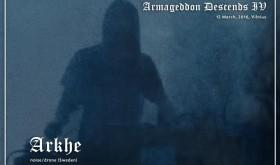 "Festivalyje ""Armageddon Descends IV"" – drone/industrial projektas ARKHE"