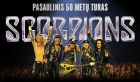 SCORPIONS - 50 metų koncertas