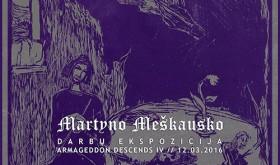 """""""Nekrokatarsis"""" pristato Martyno Meškausko darbų parodą"""