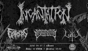 Į Vilnių grįžta JAV death metalo veteranai INCANTATION