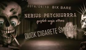 Nėrius Pečiūra - Duok cigaretę šmėklai!
