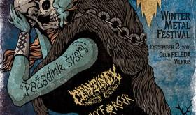 """""""Vilkų žiemos"""" priešakyje – garsūs metalo vardai CENTINEX ir SKYFORGER"""