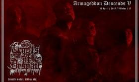 """CRYPTS OF DESPAIR ir KARKASAS festivalyje """"Armageddon Descends V"""""""