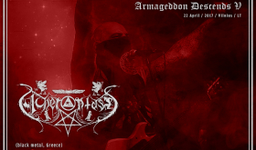 """Armageddon Descends V"" dalyvaus ir graikai ACHERONTAS"