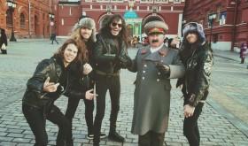 EVIL INVADERS siaubia koncertų sales