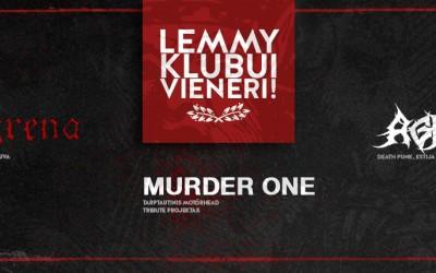 """Klubui """"Lemmy"""" vieneri"""