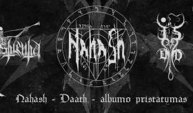 NAHASH albumo pristatymas Vilniuje