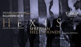 HEXIS, SIBERIAN HELL SOUNDS, RED WATER