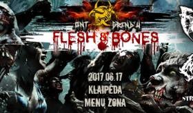 "10-asis festivalis ""Ont Grind'ų"" pristato koncertą ""Flesh&Bones"""