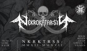 """Nekrokatarsis - V"""