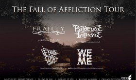 """""""The Fall Of Affliction"""" turo koncertas"""