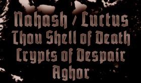 NAHASH, LUCTUS, CRYPTS OF DESPAIR koncertuos Rygoje