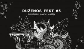 """Kovo pabaigoje – penktasis pajūrio sunkios ir kreivos muzikos festivalis """"Duženos Fest"""""""