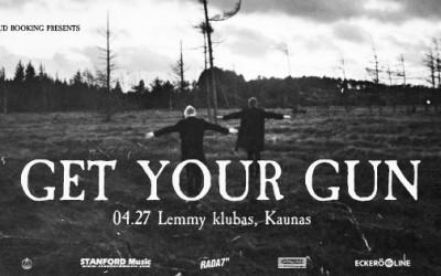 GET YOUR GUN, ELNIO RAGO MIŠKAS