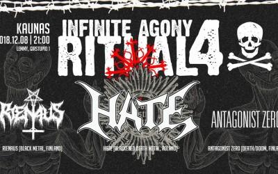 Infinite Agony Ritual IV - Kaunas
