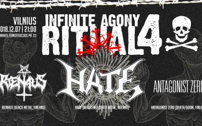 Infinite Agony Ritual IV - Vilnius