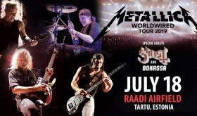 Kelionė į METALLICA koncertą Estijoje