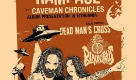 "REDNECK RAMPAGE ""Caveman Chronicles"" pristatymas"