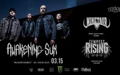 AWAKENING SUN turo koncertas Kaune