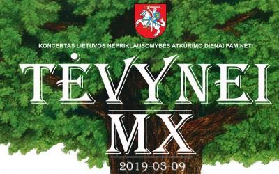 "Koncertas ""Tėvynei MX"""