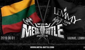 W:O:A Metal Battle Lietuva 2019 // Finalas