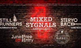 MIXED SYGNALS, STILL RUNNERS, STERYOBACK