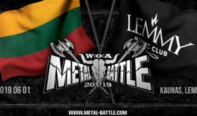 """W:O:A Metal Battle Lietuva 2019"" finale – penkios grupės"