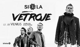 SIELA Vėtroje | naujo albumo pristatymo koncertas Vilniuje