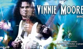 UFO gitaristo Vinnie Moore koncertas