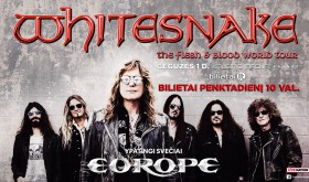 WHITESNAKE, EUROPE