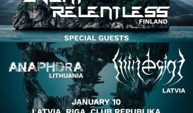 Event Relentless [FIN], Anaphora [LT], Mindesign [LV]