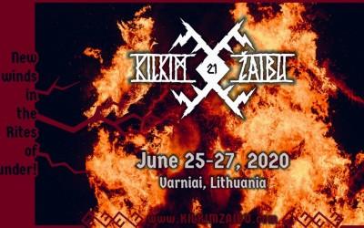 Festivalis Kilkim Žaibu XXI