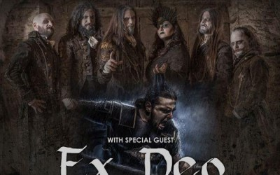 FLESHGOD APOCALYPSE + EX DEO + supports: Veleno Across Europe Tour 2020