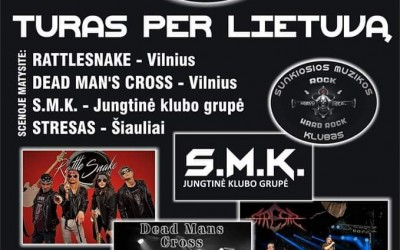 Metelys in Rock turas per Lietuvą